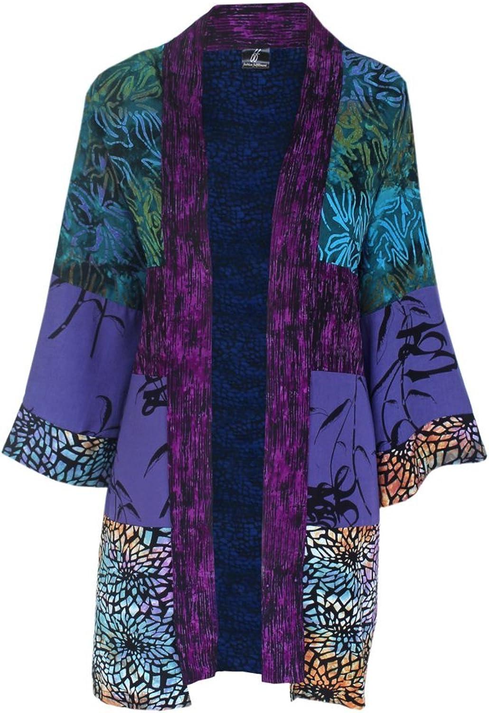 Fashion Fulfillment Plus Size Tunic Cardigan   Women's Kimono, Handmade by GF, One Size 1 x 2X