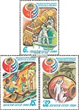 Prophila Collection Unión Soviética 4994-4996 (Completa.edición.) 1980 Vuelo Espacial URSS-Cuba (Sellos para los coleccionistas) El Espacio