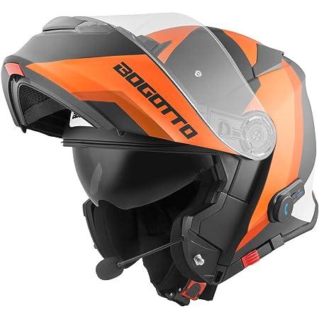 Nolan N100 5 Consistency N Com Flip Up Helmet M 58 Orange N150003930272 Orangematt Grey Black M 57 Auto