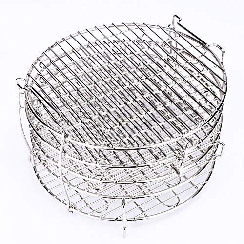 Find Discount Dehydrator Stand for Ninja Foodi Accesories 6.5&8 Qt, Dehydrator Rack for Ninja Air Fr...