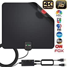 2020 Newest HDTV Antenna, HD Indoor Digital TV Antenna 130 Miles Range with Amplifier..