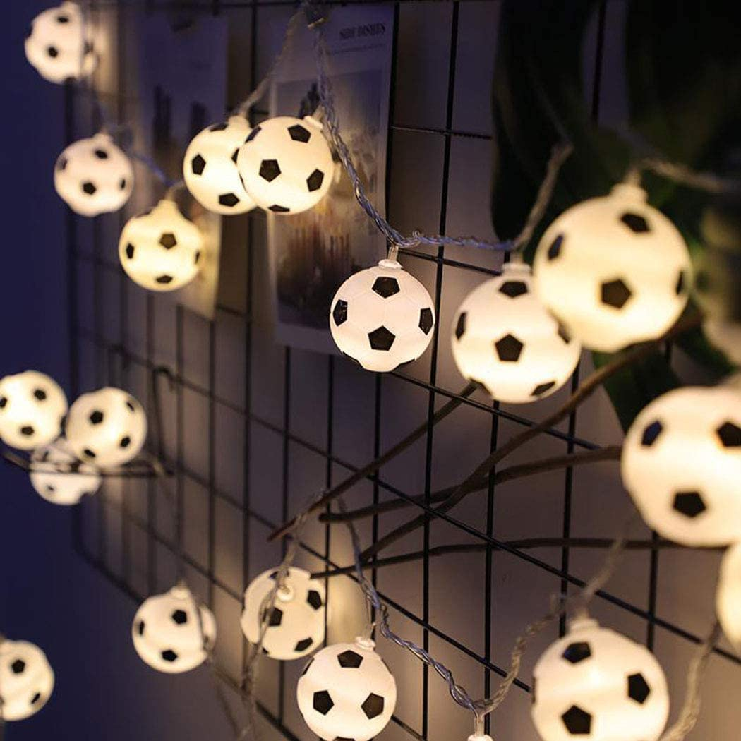 Halloween Football String 4 years warranty Lights 1.5M 3M Strin LED LEDs 2021 autumn and winter new Fairy 6M