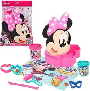 Disney Colorbaby 77191 Boîte 3D en Plastique pour moules et Outils Minnie