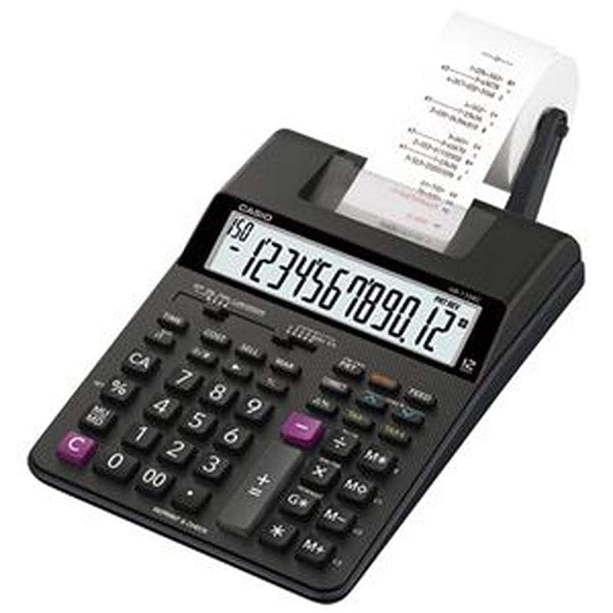 生じるビーム赤ちゃんカシオ計算機?プリンター電卓HR-170RC-BK