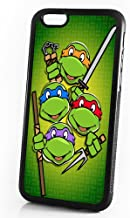 (For iPhone 8 Plus/iPhone 7 Plus) Durable Protective Soft Back Case Phone Cover - A11445 Ninja Turtle