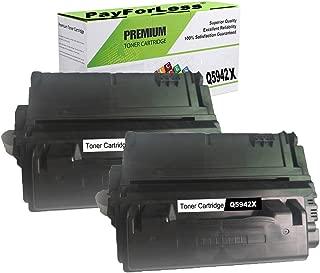 PayForLess Toner Cartridge for HP 42X HP 38A HP 39A HP 45A (Q5942X Q1338A Q1339A Q5945A) Compatible for HP Laserjet 4200 4250 4250n 4200n 4250dtn 4200tn 4350tn 4350dtn 4300 4250tn 4350 4350n