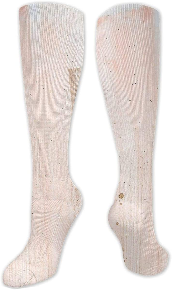 Gold Mable Knee High Socks Leg Warmer Dresses Long Boot Stockings For Womens Cosplay Daily Wear