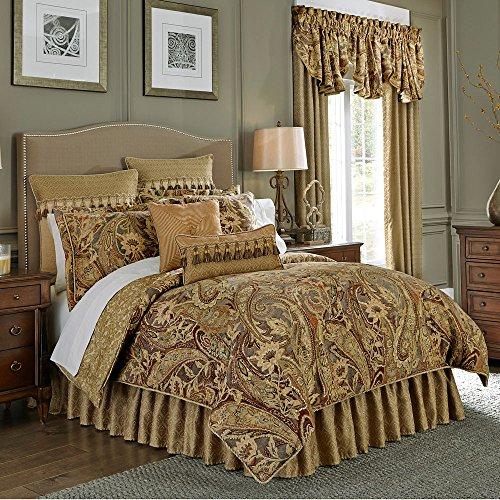 Croscill Ashton 4-piece Queen Comforter, Multi