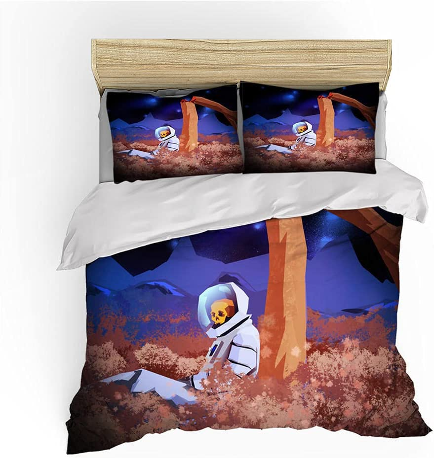 Kids Bedding Duvet Cover Max 50% OFF Challenge the lowest price Microfiber Quilt Polyester Set