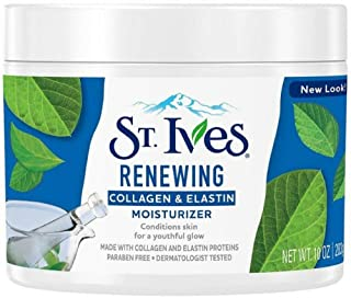 St. Ives Renewing Collagen & Elastin Moisturizer, 10 oz (Pack of 5)