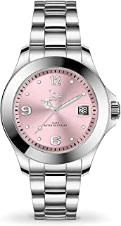 Ice-Watch - ICE steel Light pink - Montre argent pour femme avec bracelet en metal