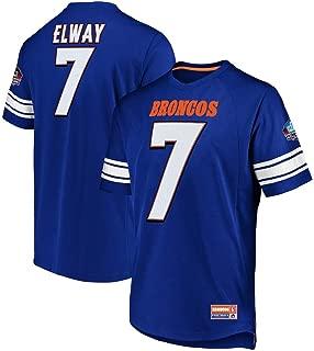 John Elway Denver Broncos Hall of Fame Big & Tall Hashmark Jersey T-Shirt