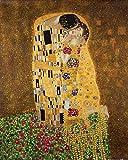 1art1 Gustav Klimt - Der Kuß II Poster Kunstdruck 50 x 40