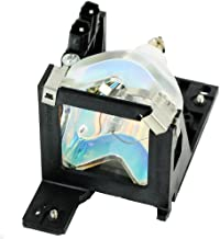 QueenYii ELPLP19 Compatible for EPSON EMP 30 Replacement Projector Lamp with Bulb Inside