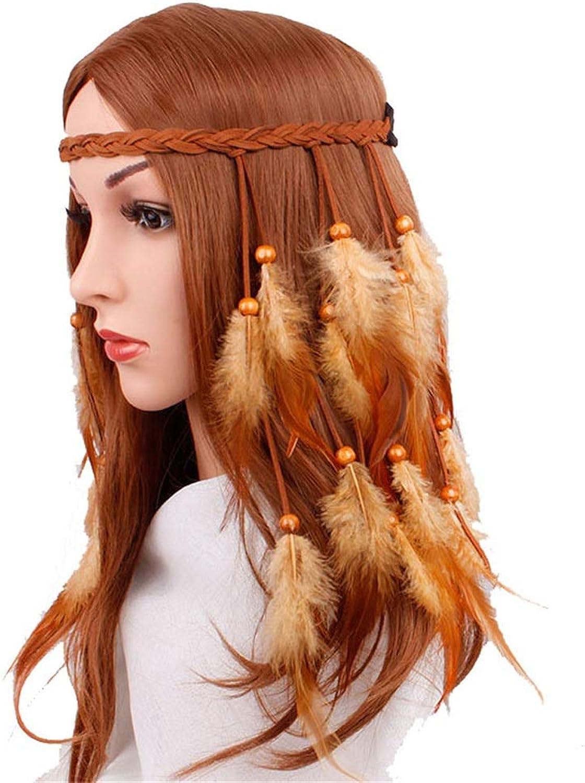 Women's Hippie Hair Accouterment Heathen Style Headdress