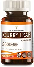 Curry Leaf 60 Capsules(2 pcs.), 500 mg, Organic Curry Leaf (Murraya koenigii) Dried Leaf (2x60 Capsules)