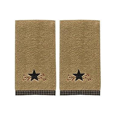 Star Vine Fingertip Towel - Set of 2