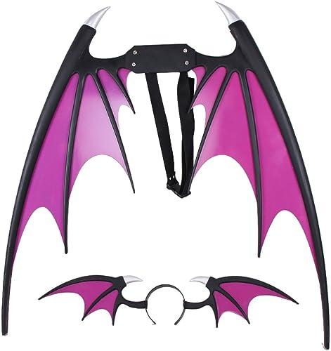 Darkstalkers cosplay prop Morrigan Aensland Wings + headwear