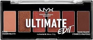 NYX PROFESSIONAL MAKEUP Ultimate Edit Petite Shadow Palette, Warm Neutrals, 0.04 Ounce