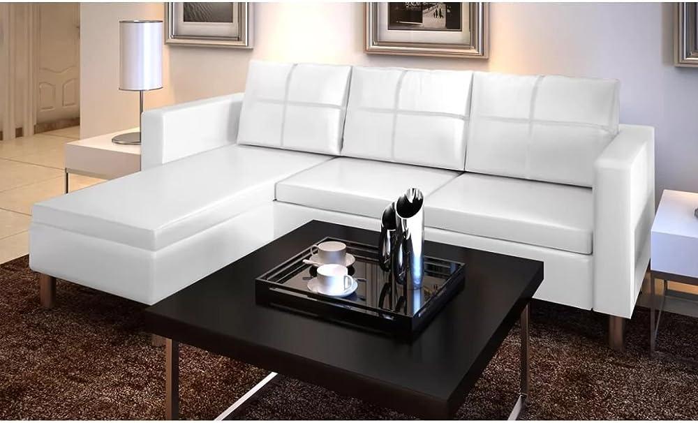 Vislone, divano angolare 3 posti in pelle IAT0214209532478AW