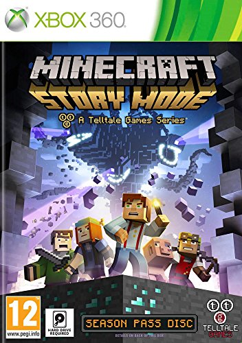 Telltale Games Minecraft Story Mode, Xbox 360 - video games (Xbox 360, Xbox 360, Adventure, telltalegames, E10+ (Everyone 10+), Basic) [video game]