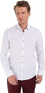 Trend Skinny Fit Uzun Kollu Gömlek Beyaz