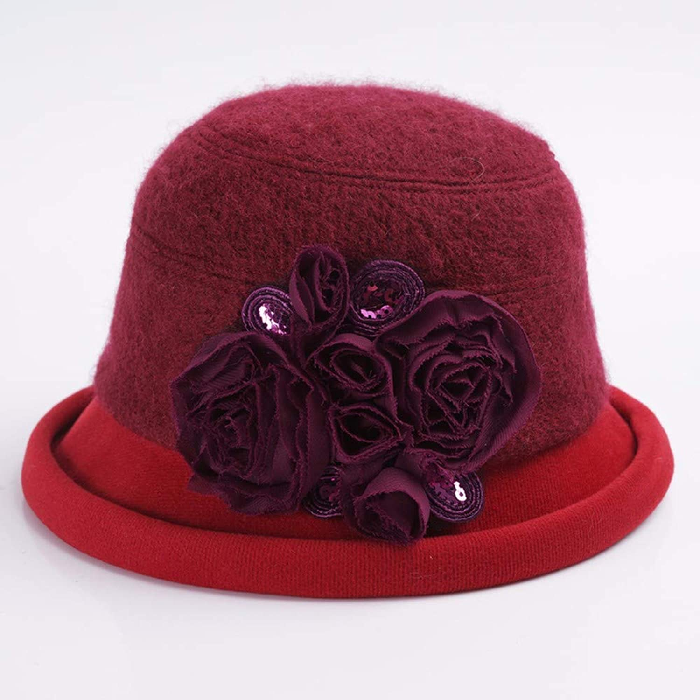 Kuoshanstore Autumn and winter ladies hat beret