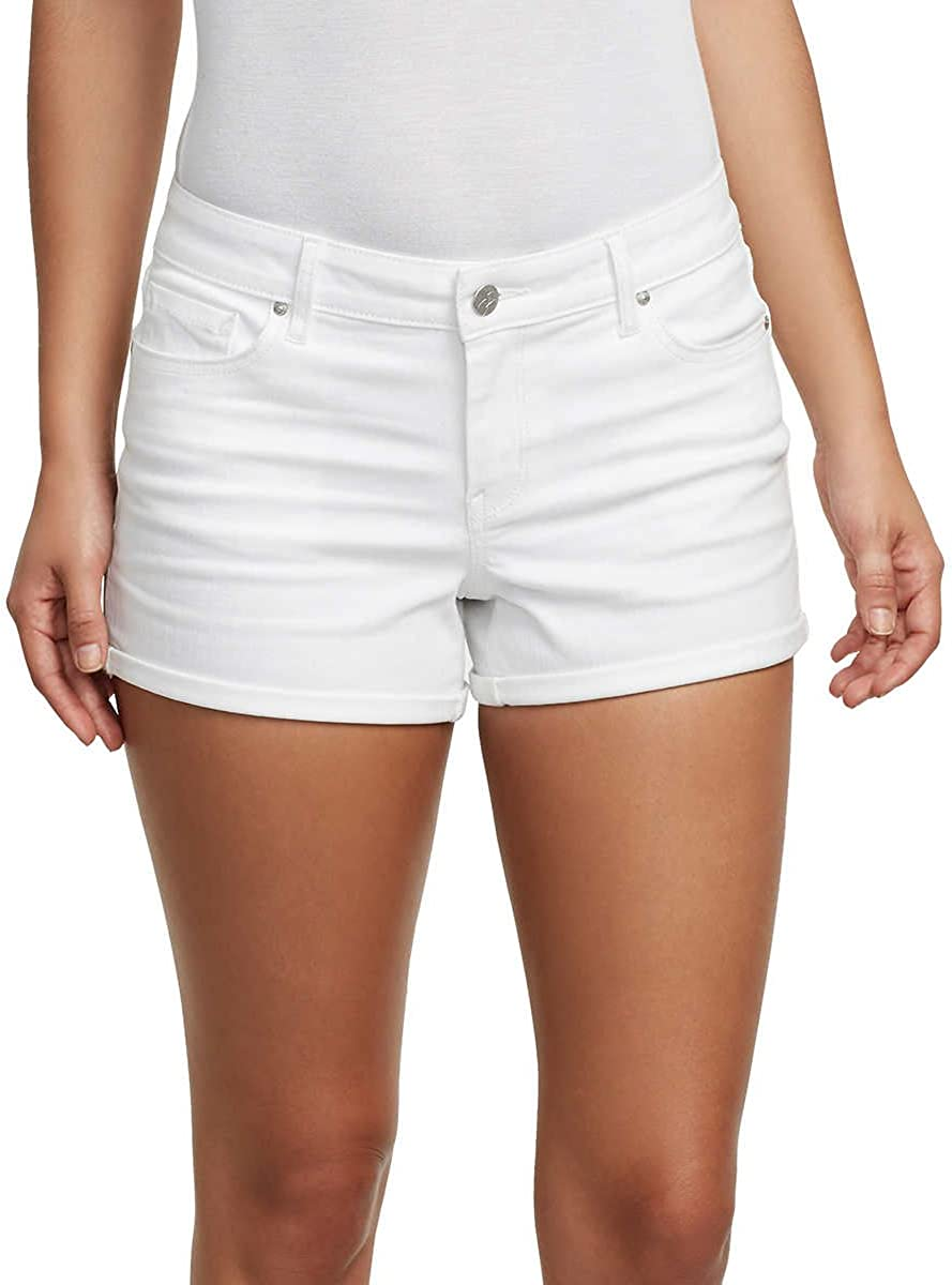 Jessica Simpson Ladies' Rolled or Unrolled Cuff Denim Short (8