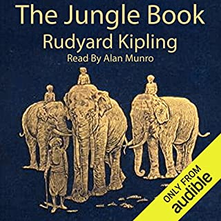 The Jungle Book                   By:                                                                                                                                 Rudyard Kipling                               Narrated by:                                                                                                                                 Alan Munro                      Length: 5 hrs and 47 mins     41 ratings     Overall 3.4