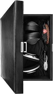 Geekria 木箱 大型ヘッドホン 収納 ボックス Sennheiser HD820, HD800 S, SONY MDR-Z1R, ATH-ADX5000, ATH-AWKT 等大型な 高級 ヘッドホン対応 保護ケース