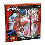 Prodigiosa: Las aventuras de Ladybug Prodigiosa Ladybug-40954 Prodigios: Las Aventuras de Ladybug Set Regalo con Diario, Color Rojo, 26 x 26 cm (Cife Spain 40954)
