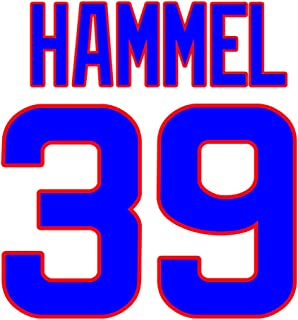 Jason Hammel Chicago Cubs Jersey Number Kit, Authentic Home Jersey Any Name or Number Available