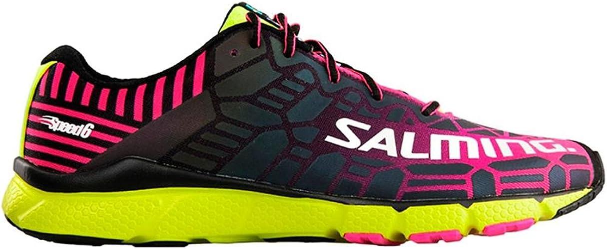 Salming femmes Speed 6 Neutral Running chaussures Running chaussures noir - Neon jaune 4