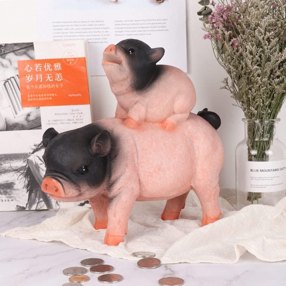 DEIOKL Creative Big Cheap super special price Pig Back Bank Deluxe Children Piggy