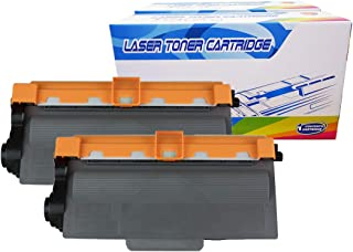 Inktoneram Compatible Toner Cartridges Replacement for Brother TN750 TN-720 TN-750 DCP-8110DN DCP-8150DN DCP-8155DN HL-5440D HL-5450DN HL-5470DW HL-5470DWT HL-6180DW MFC-8510DN MFC-8710DW (BK-2PK)