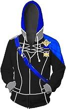 COSTHAT Fire Emblem Three Houses Golden Deer/Blue Lion/Black Eagle Sweatshirt Zip-Up Hoodie Cosplay Costume Unisex