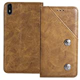 YLYH Flip Genuine Leather Wallet Phone Case For Archos