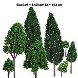 Immagine 1 bememo 22 pezzi alberi modello