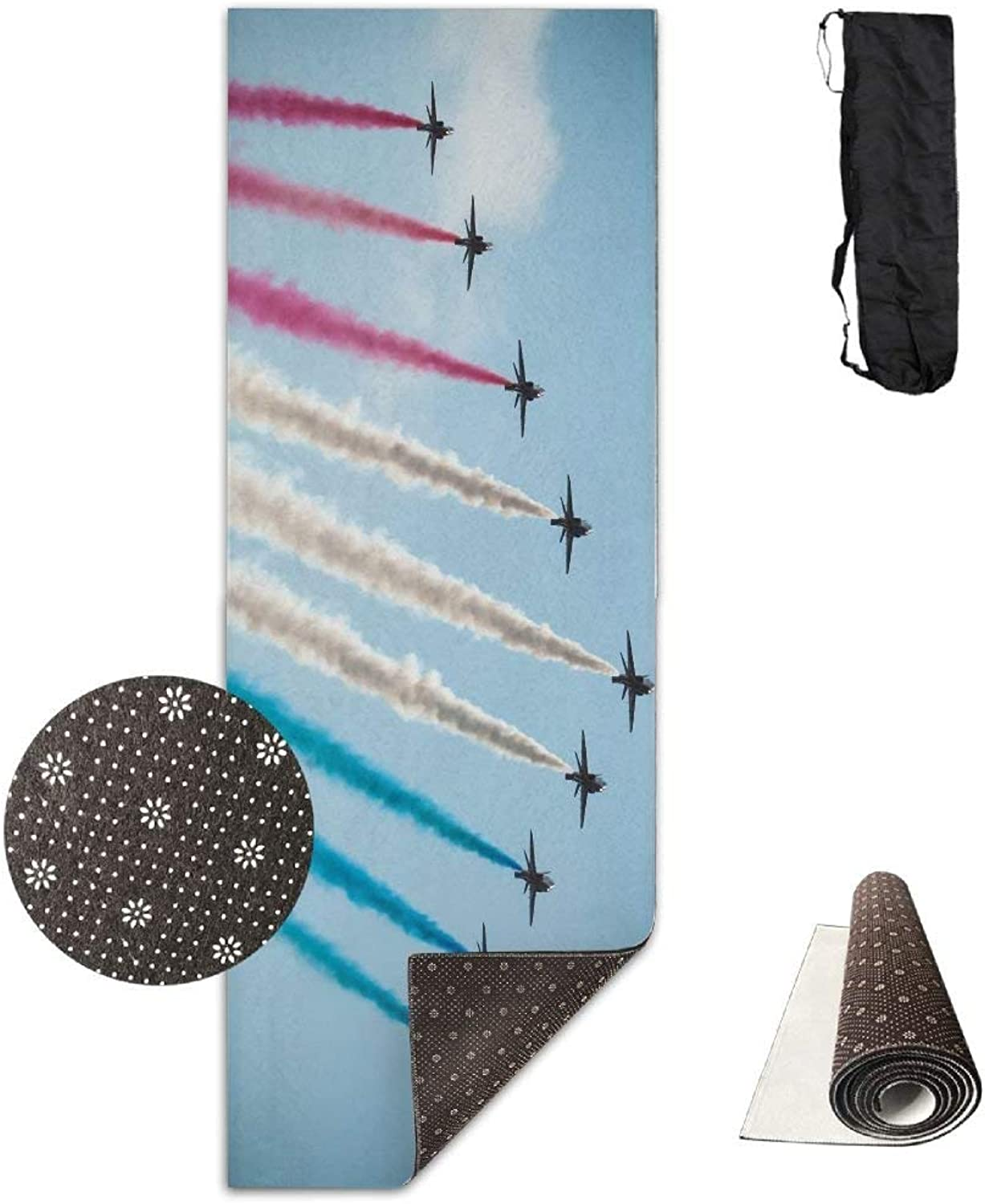 Airplanes Show in The Sky Yoga Mat Towel for Bikram Hot Yoga, Yoga and Pilates, Paddle Board Yoga, Sports, Exercise, Fitness Towel