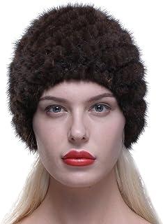 Cappello Invernale Colbacco Tutto in Pelliccia Unisex Bianco