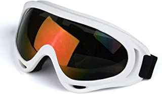 Aooaz Color Motorcycle Goggles Outdoor Riding Glasses Cross Country Goggles Ski Goggles