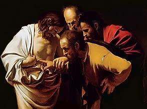 kunst für alle Art Print/Poster: Michelangelo Merisi da Caravaggio The Incredulity of St Thomas 1602-03
