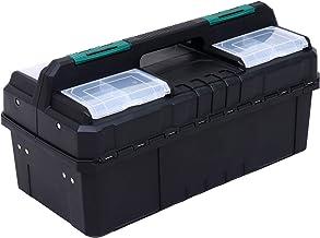 Doitoo — Estojo multifuncional para ferramentas de plástico, caixa de armazenamento de ferramentas de grande capacidade, o...