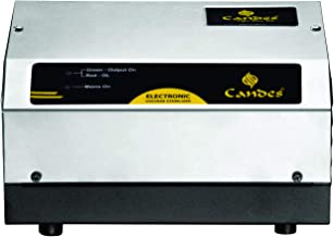 Candes 100% Copper for Refrigerator/Fridge Upto 350 litres (90V to 290V) Voltage Stabilizer with Stainless Steel (SS) Body...
