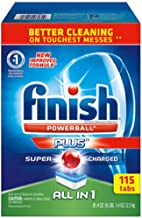 Finish® All-In-One Dishwasher Detergent Powerball Tabs 115ct