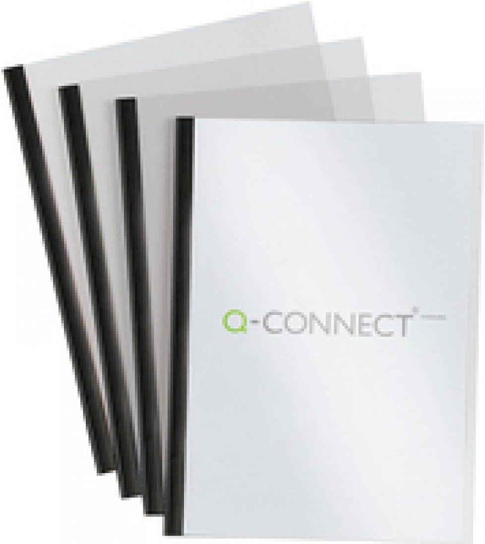 Q Connect SLIDEBINDER/Cover Sets BK P100