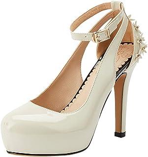 Nonbrand TAONEEF Women Fashion Platform Party Shoes High Heels