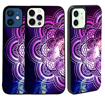 Bolster iPhone 12 Case/iPhone 12 Pro Rubber TPU Case - Milky Mandala Printed Designer Soft Rubber TPU Protective Shockproof Back Case/Cover for iPhone 12 & iPhone 12 PRO