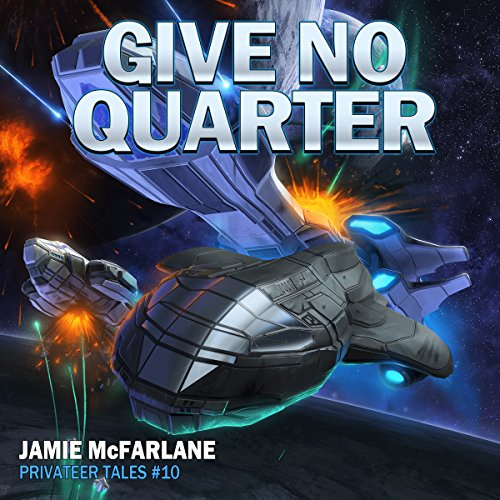 Give No Quarter audiobook cover art