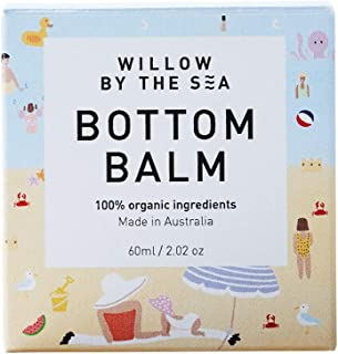 Bottom Balm - 100% Certified Organic - All Natural Nappy Rash and Moisture Barrier Balm - by Willow by the Sea